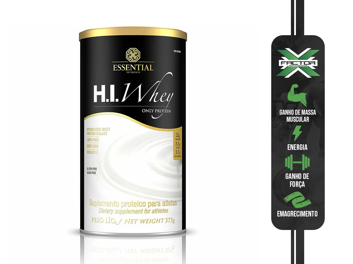 H.I. WHEY (375G) ESSENTIAL NUTRITION
