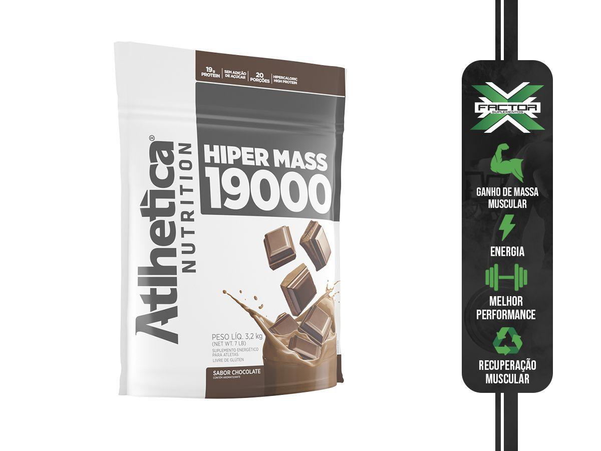 HIPER MASS GAINER (3000G) ATLHETICA NUTRITION