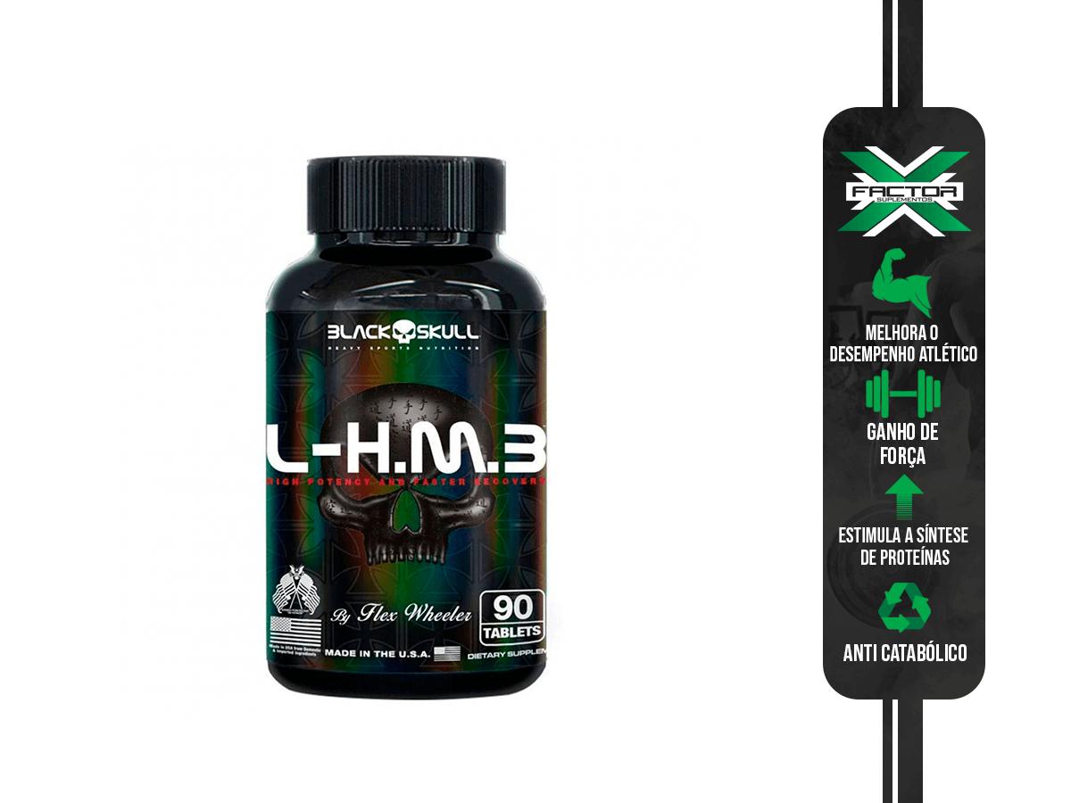 HMB 90 TABLETS BLACK SKULL