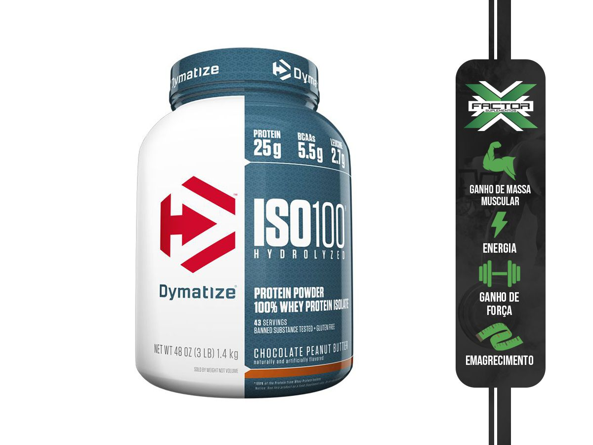 ISO 100 - 100% HIDROLYZED (1362G) DYMATIZE