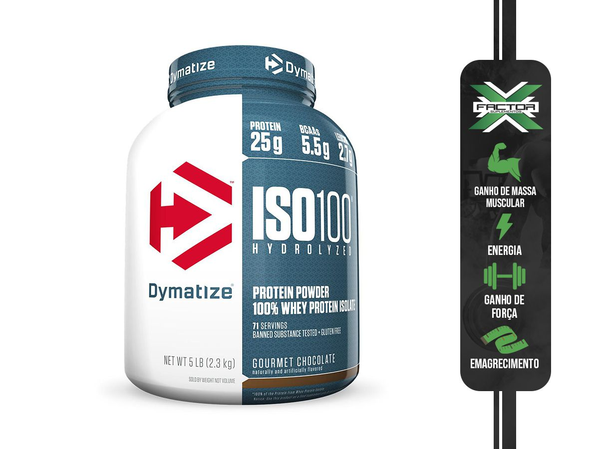 ISO 100 - 100% HIDROLYZED (2258G) DYMATIZE