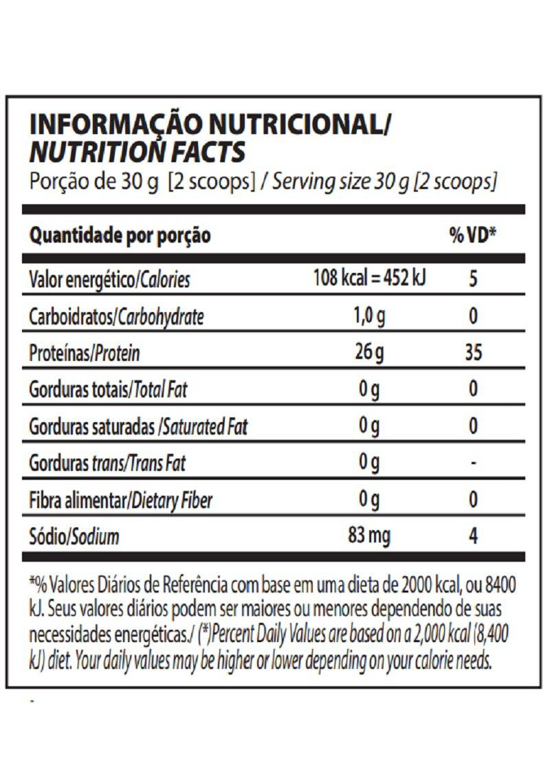 ISO TRIPLE ZERO PT 1,8KG INTEGRAL MEDICA