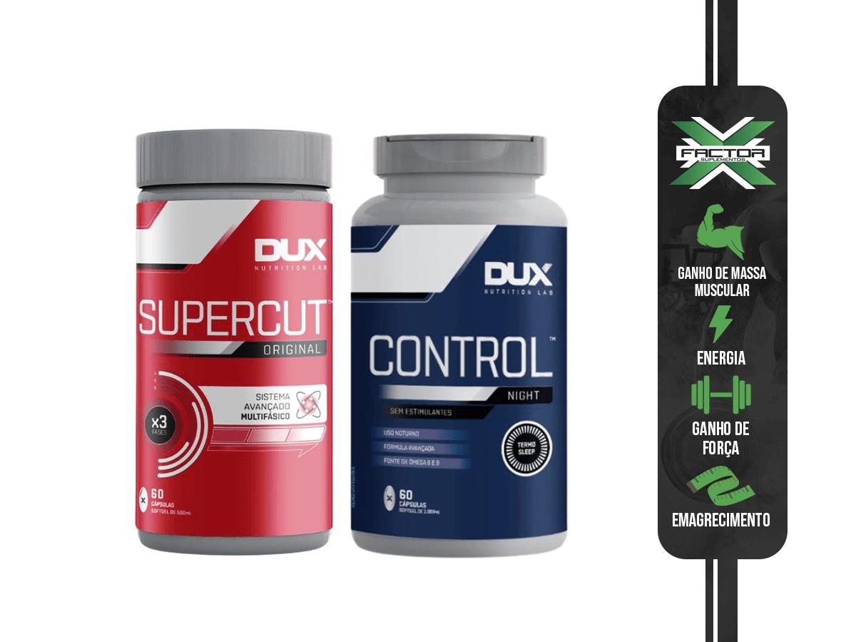 KIT DUX SUPERCUT 60 CPS + CONTROL NIGHT 60 CPS