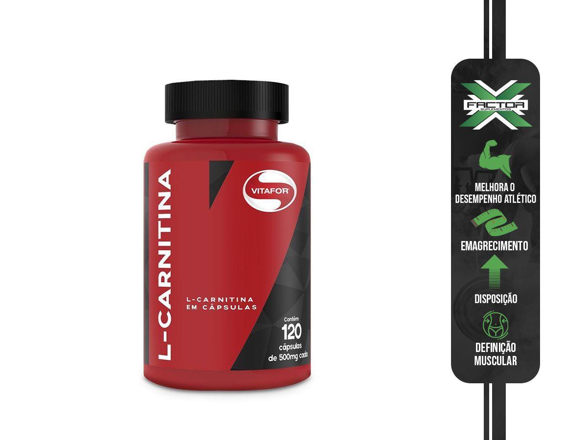 L-CARNITINA (120CAPS) VITAFOR