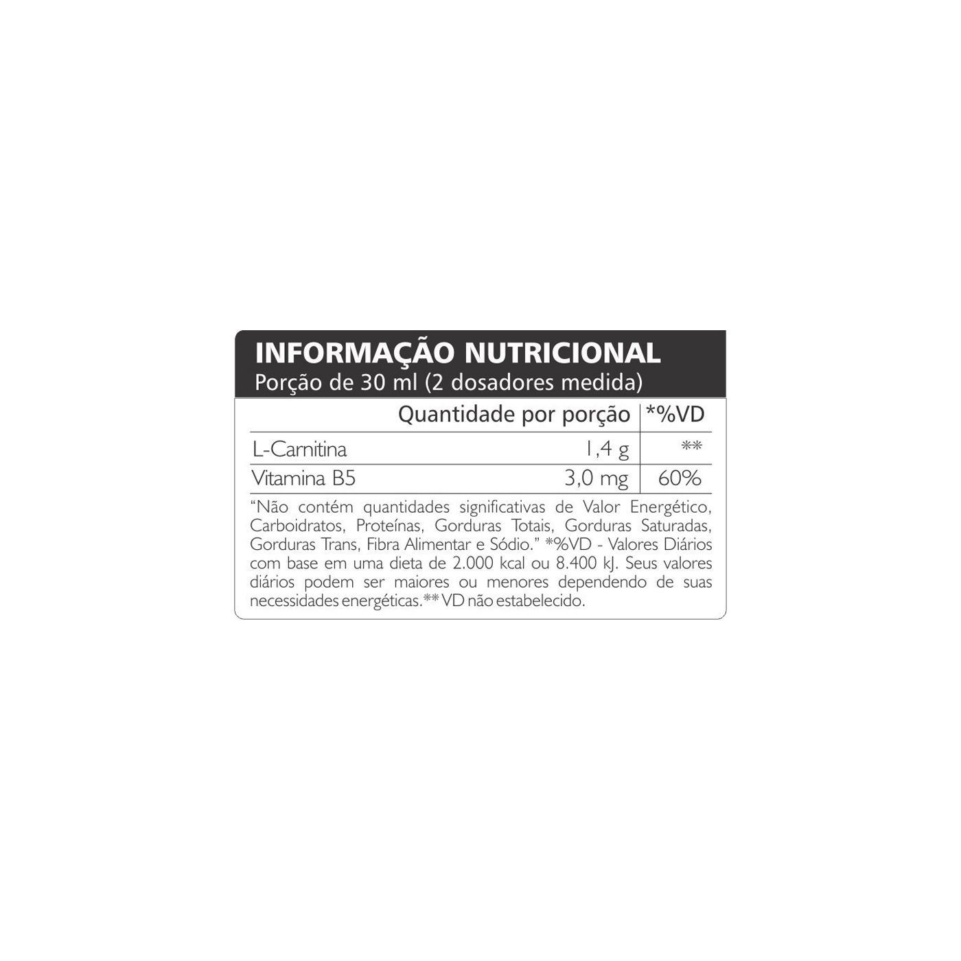L- CARNITINA 1400 (480ML) ATLHETICA NUTRITION