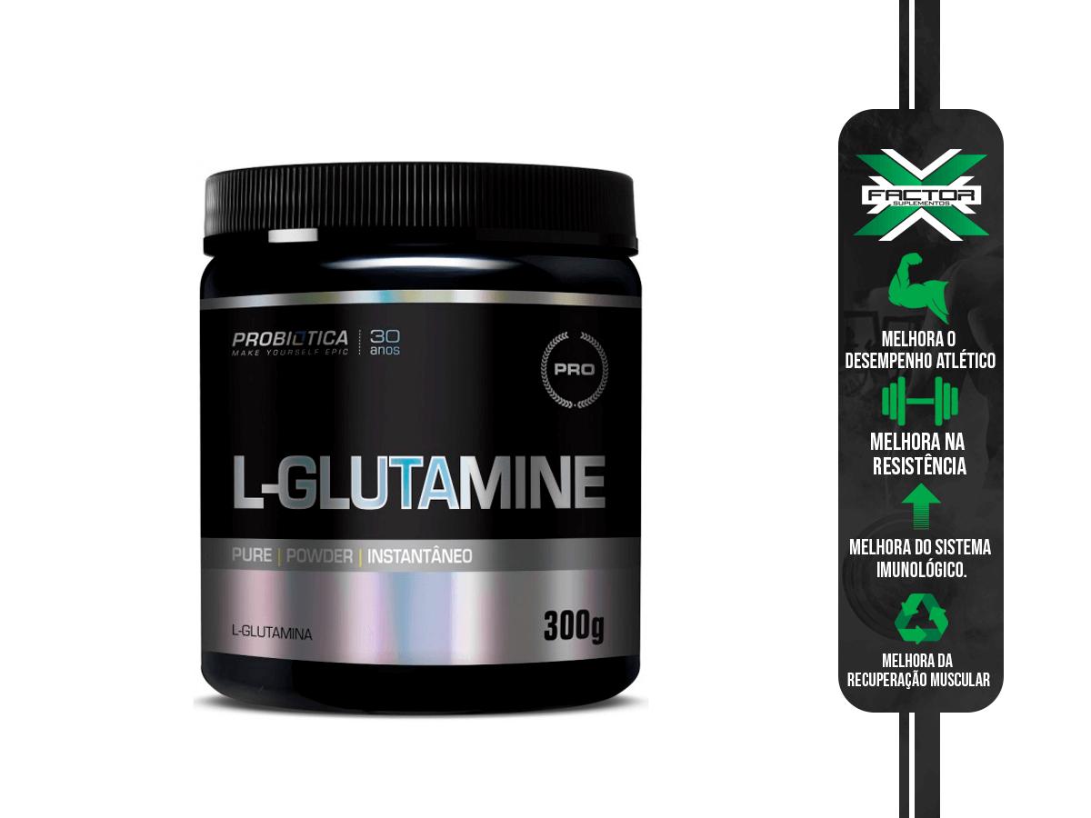 L-GLUTAMINE 300G - PROBIOTICA