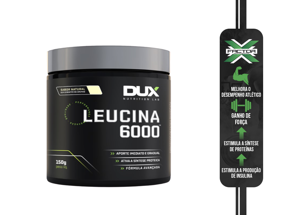 LEUCINA 6000 150G - DUX
