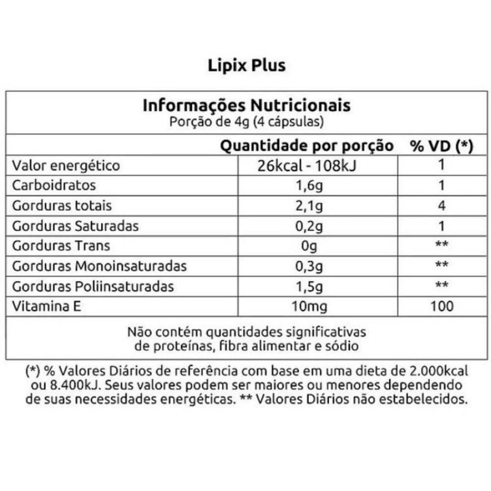 LIPIX PLUS (120CAPS) VITAFOR