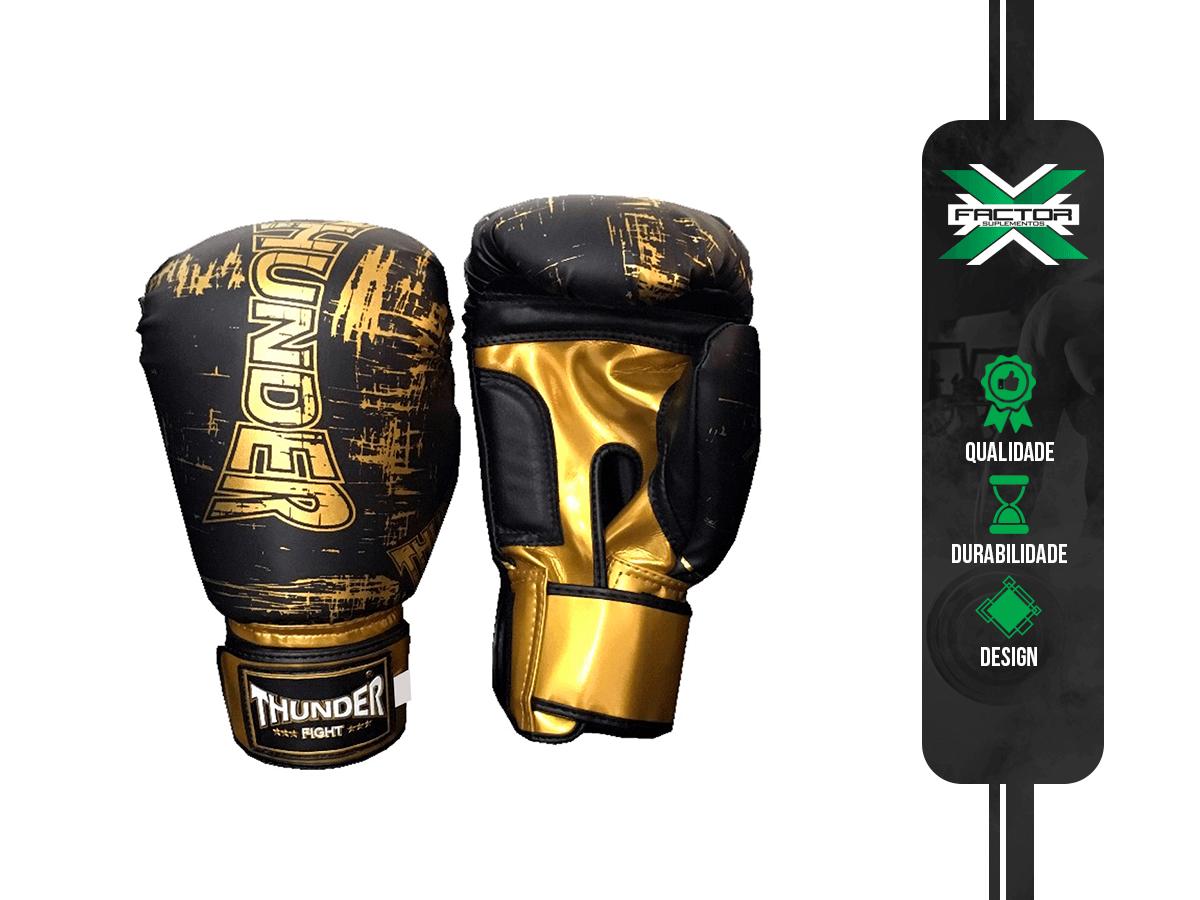 LUVAS DE BOXE/ MUAY THAI THUNDER FIGHT
