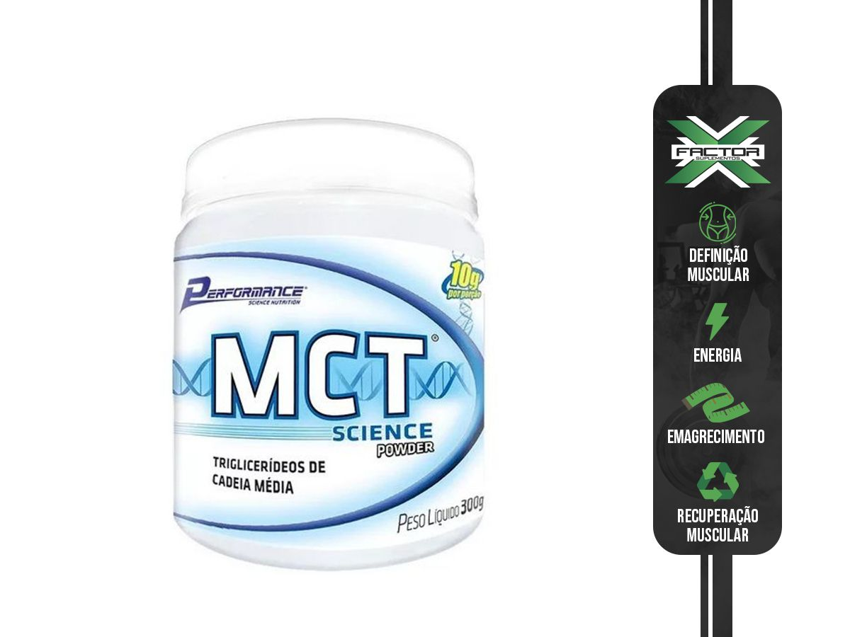 Mct Science Powder 300g Performance Nutrition