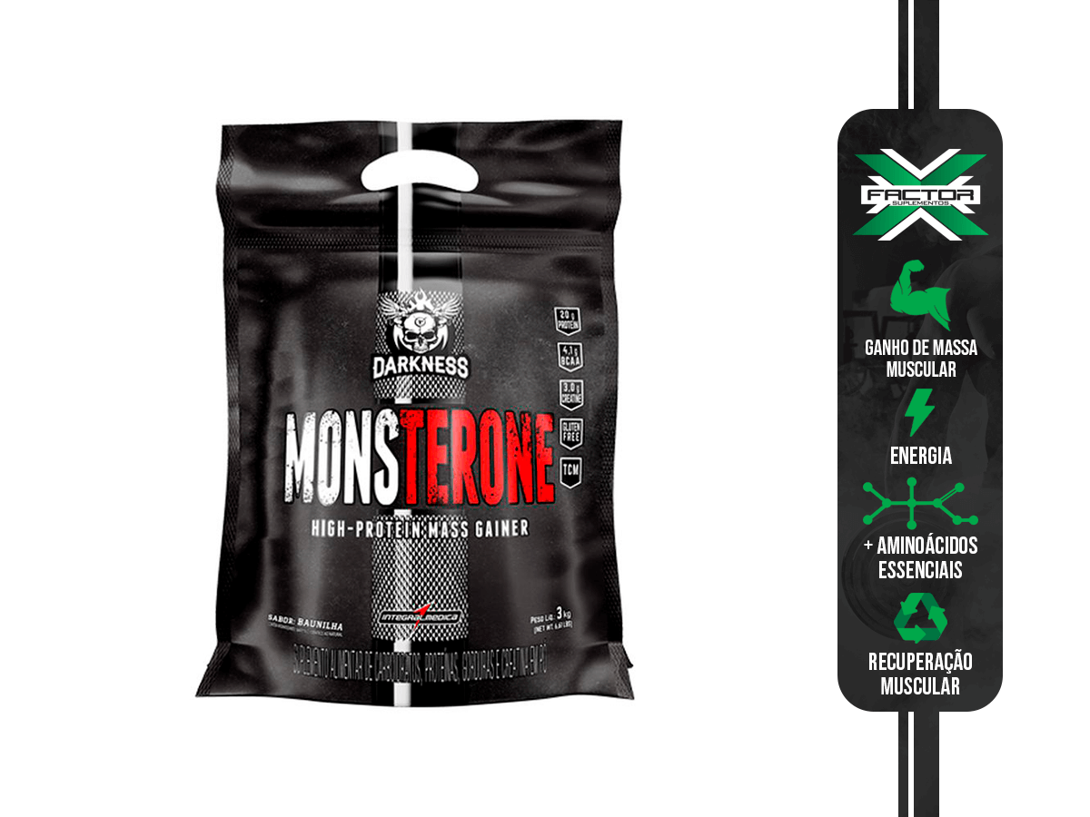 MONSTERONE POUCH 3 KG INTEGRAL MEDICA