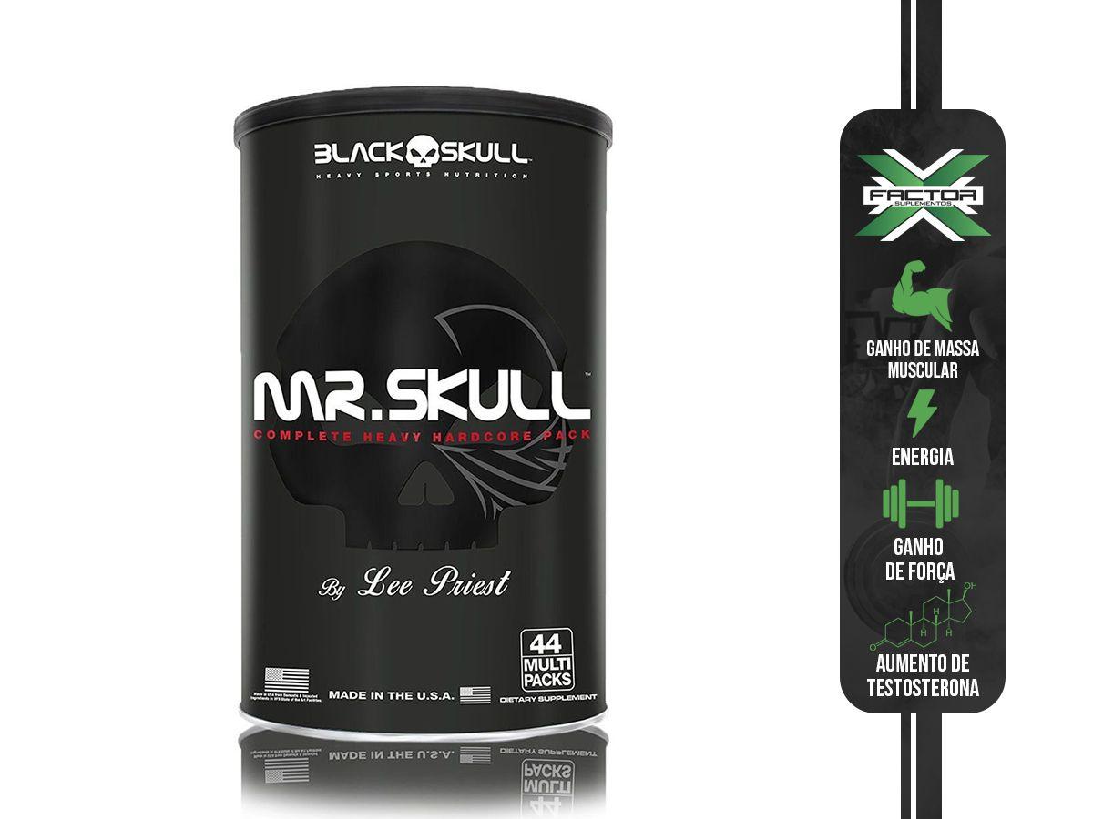 MR. SKULL (44PACKS) - BLACK SKULL