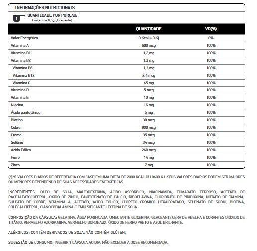 MULTIVITAMINICO 90 CAPSULAS - DUX