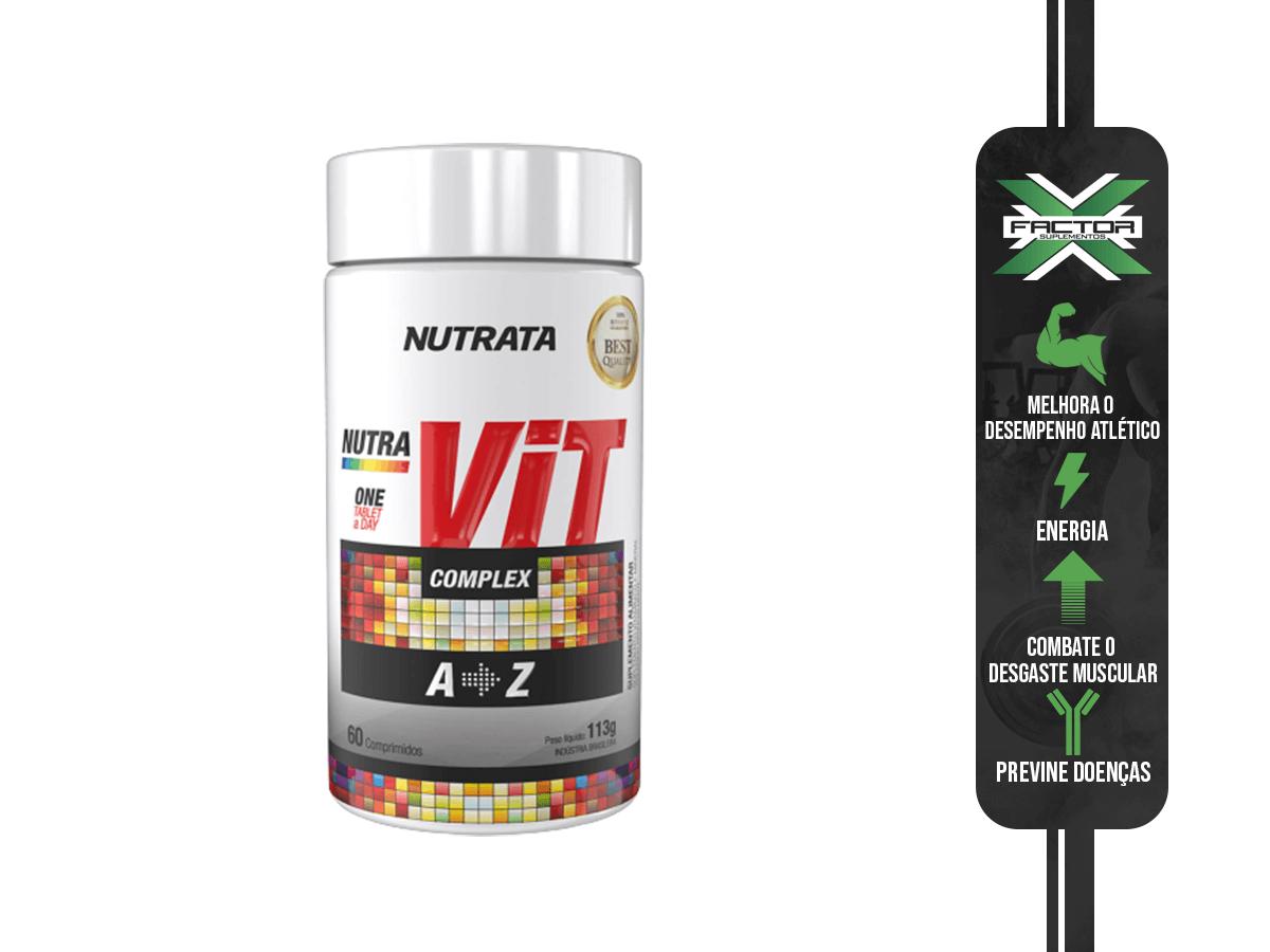 NUTRA VIT COMPLEX 60TABS 1,8G - NUTRATA
