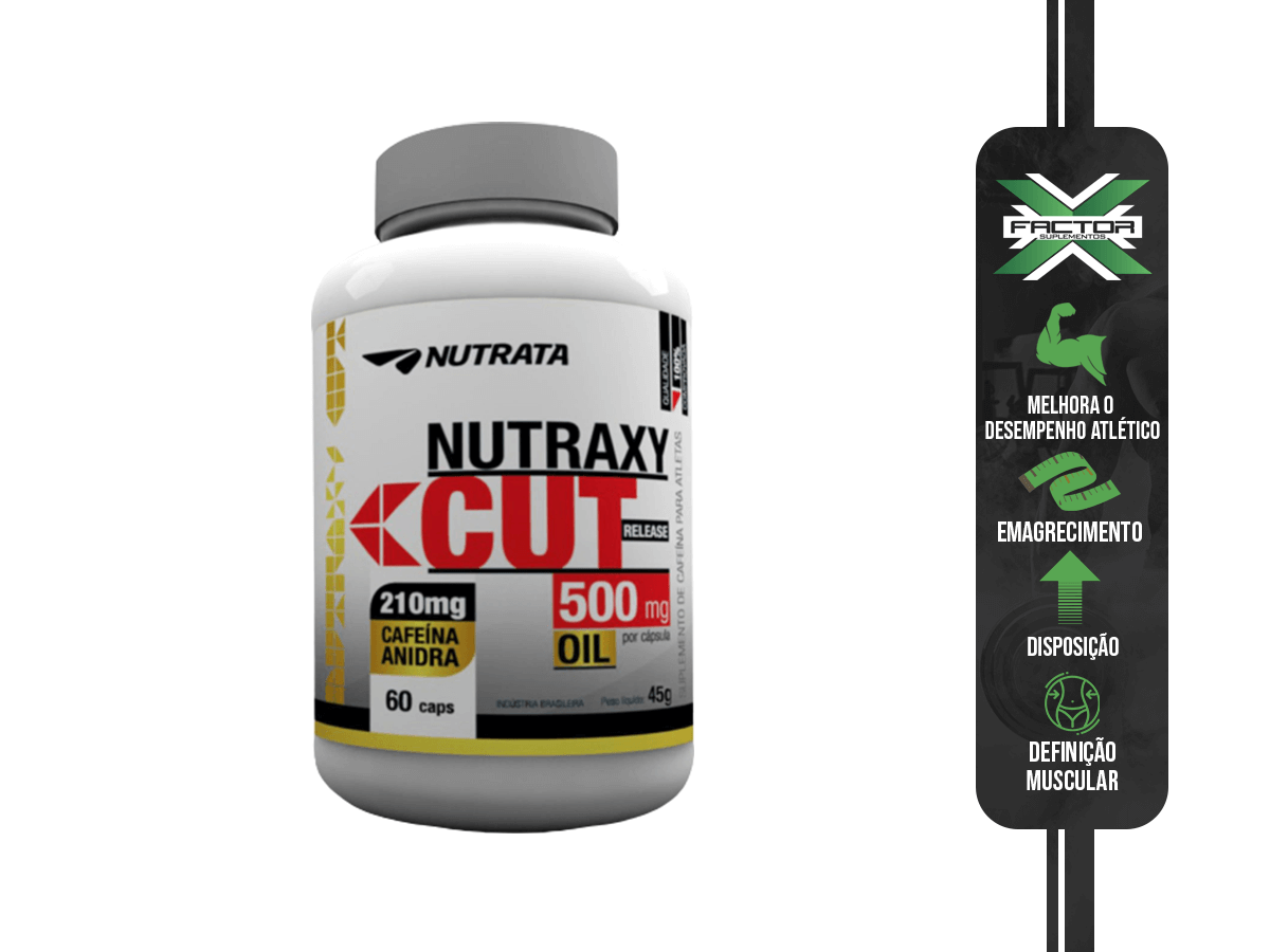 NUTRAXY CUT 60 CAPS - NUTRATA
