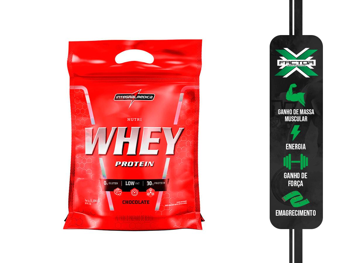 NUTRI WHEY POUCH 1,8 KG INTEGRALMÉDICA