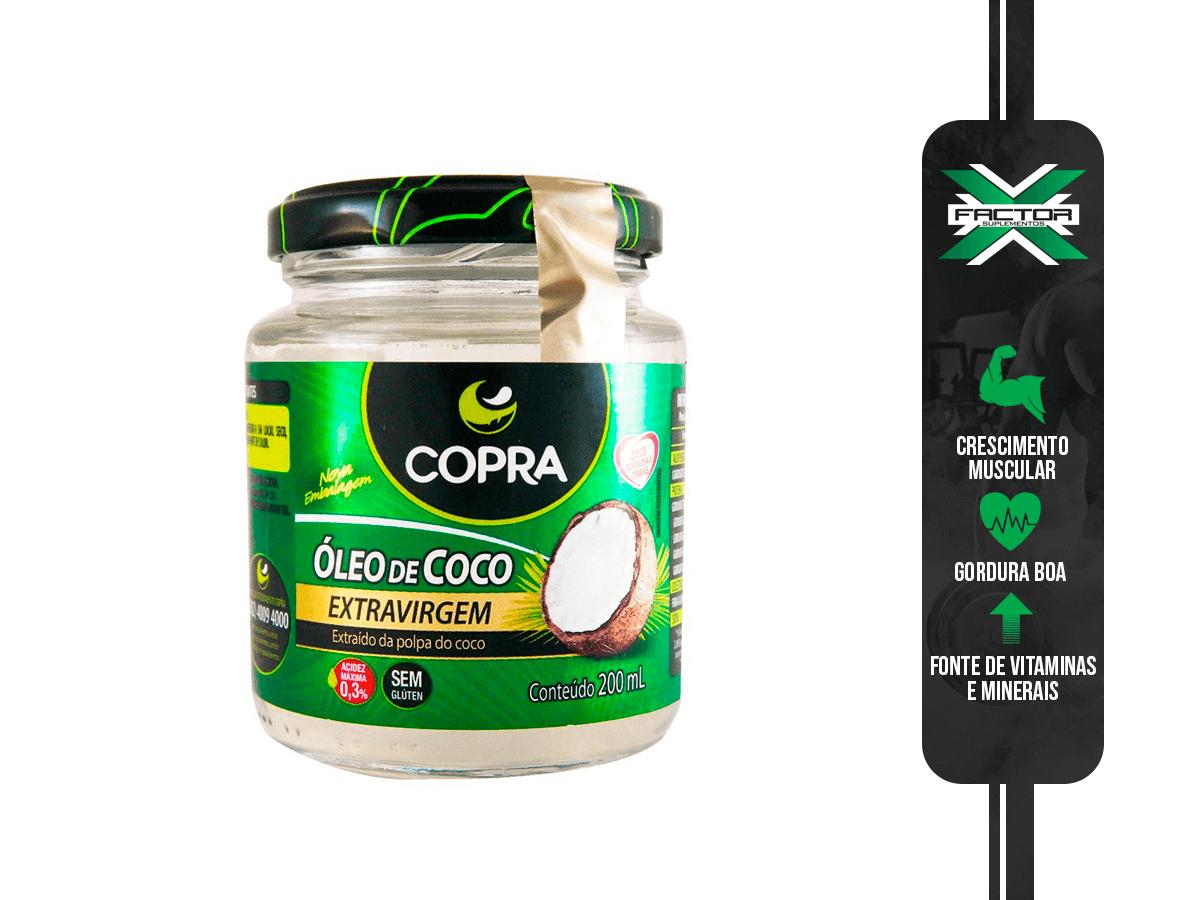 OLEO DE COCO VIRGEM 200ML COPRA