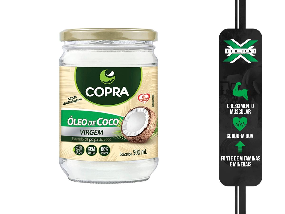 OLEO DE COCO VIRGEM 500ML COPRA
