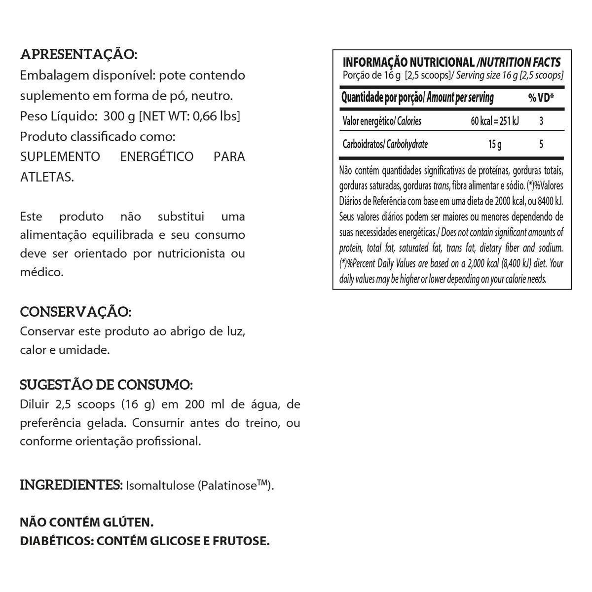 PALATINOSE 300G INTEGRAL MEDICA