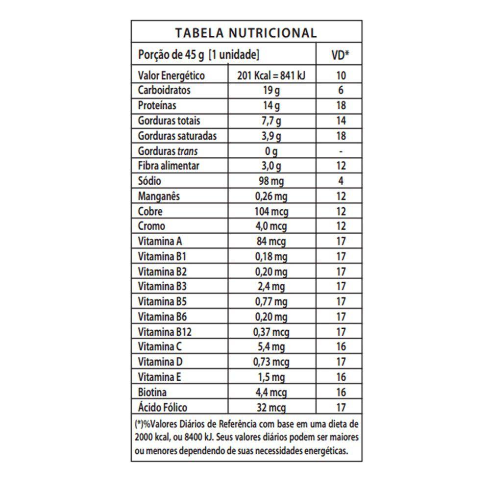 PROTEIN CRISP BAR (12UNID-45G) INTEGRALMEDICA