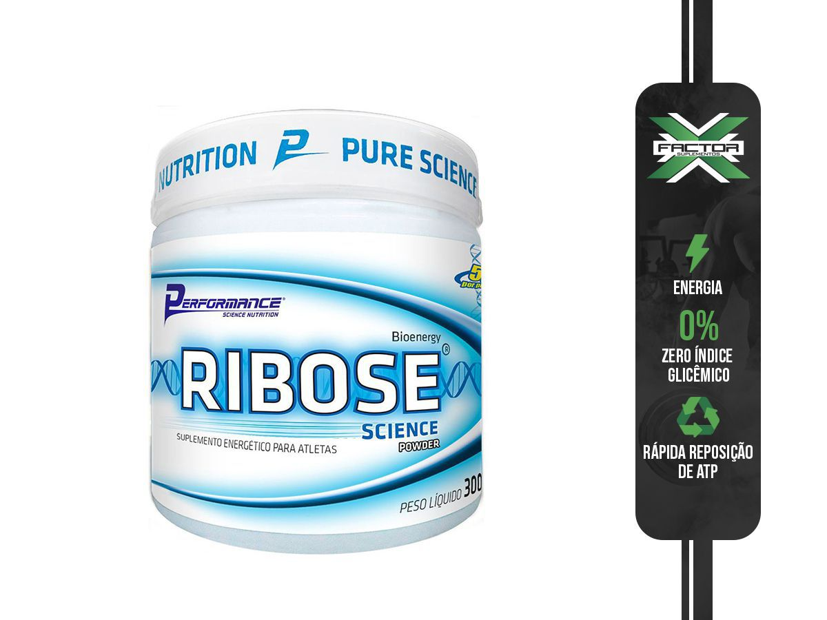 RIBOSE 300G - PERFORMANCE NUTRITION