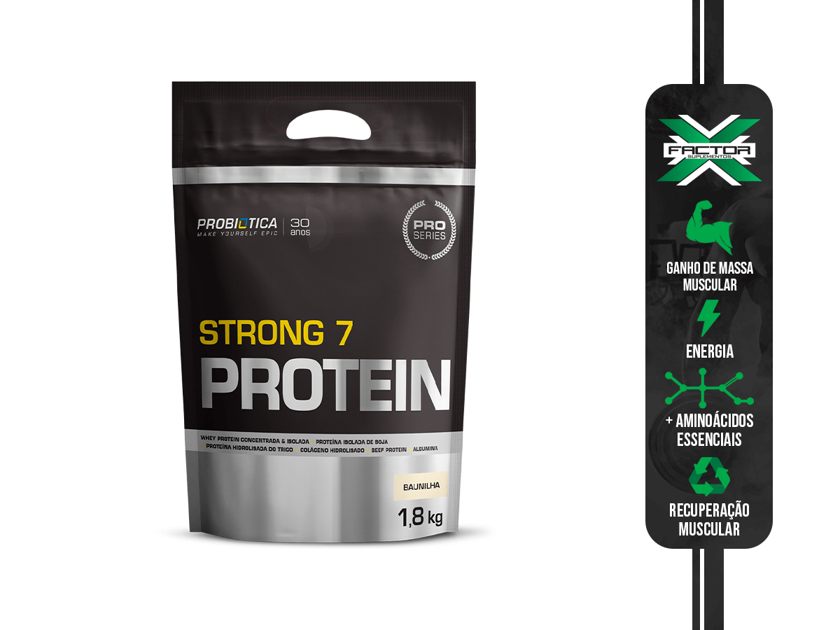 STRONG 7 PROTEIN REFIL 1800G - PROBIOTICA