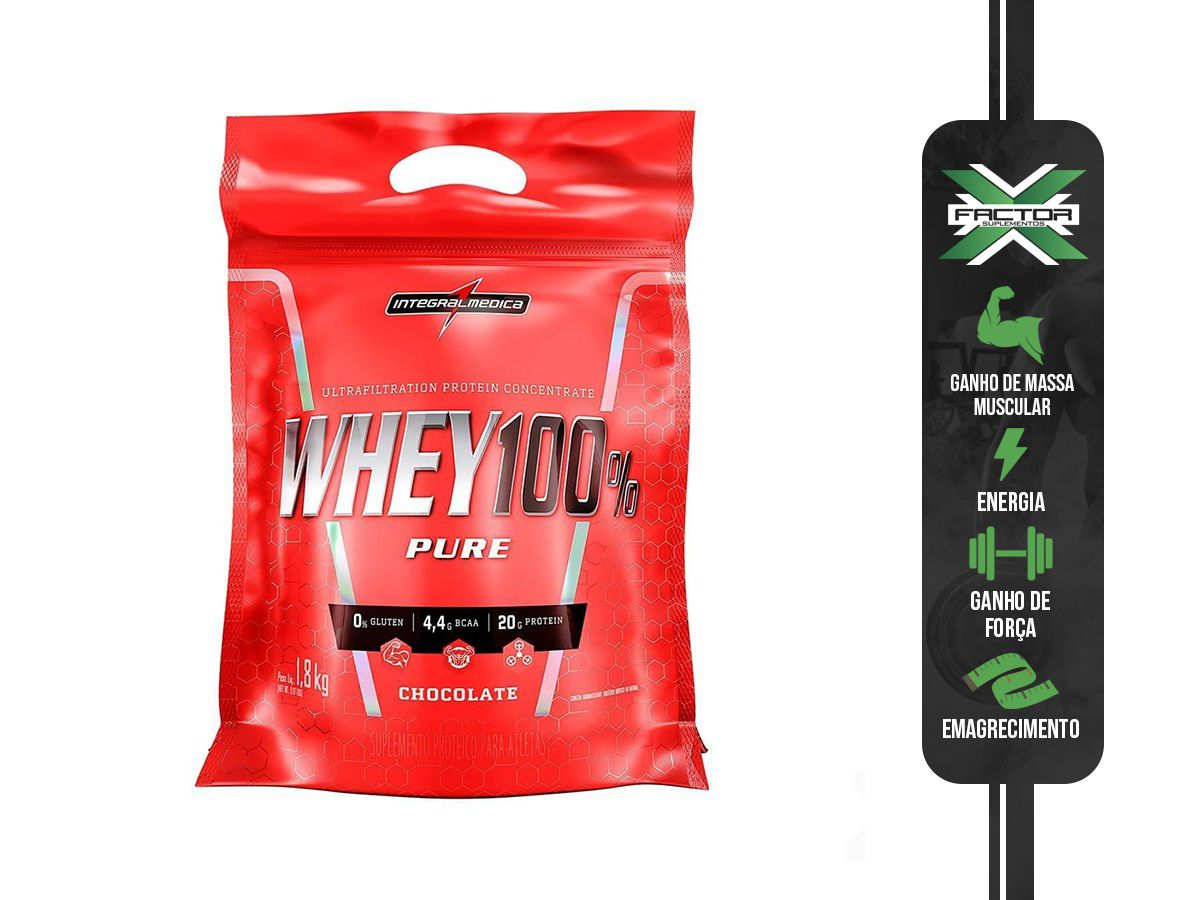 SUPER WHEY 100% PURE (1800G) INTEGRALMEDICA
