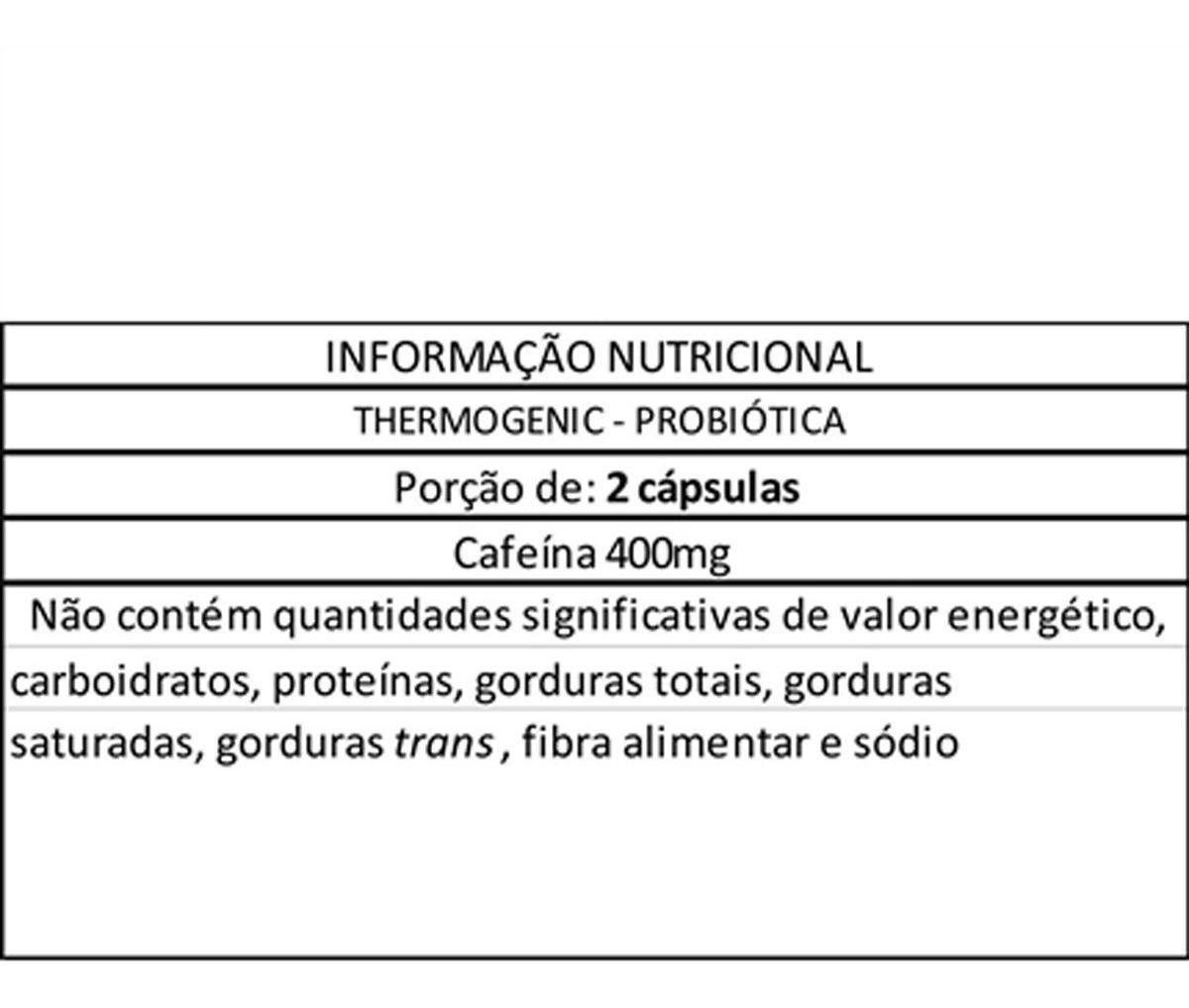 THERMOGENIC 120 CAPS - PROBIOTICA
