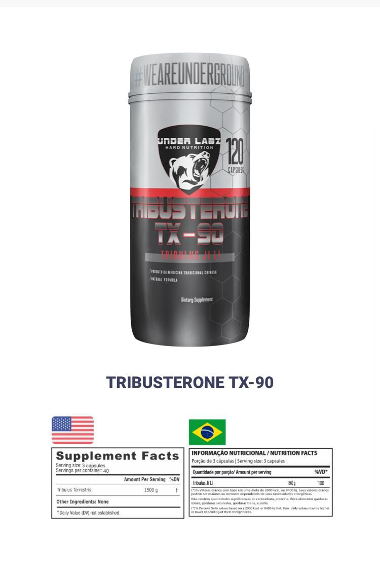 TRIBUSTERONE TX-90 120 CAPS - UNDER LABZ