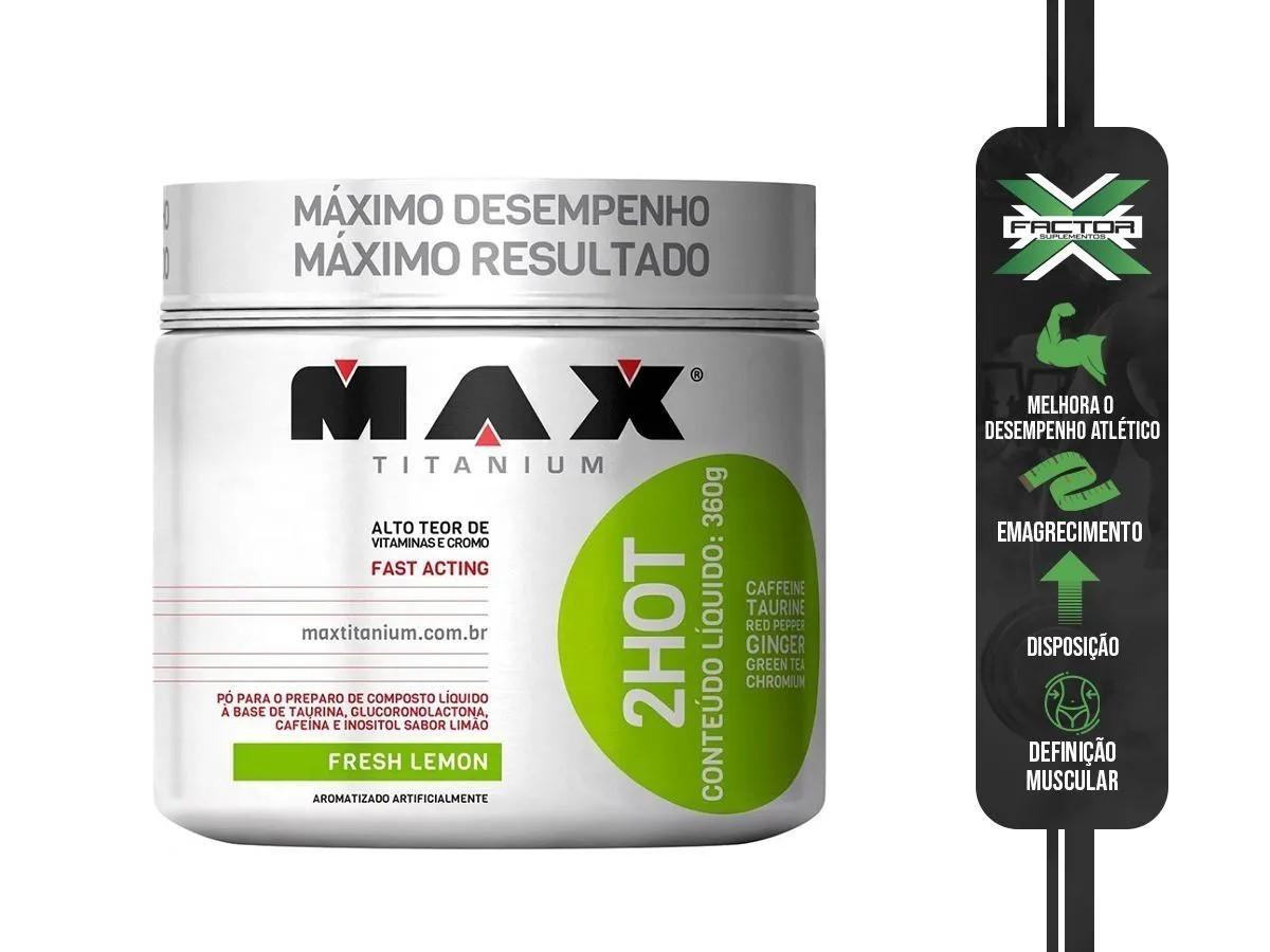 ULTIMATE 2HOT (360G) MAX TITANIUM
