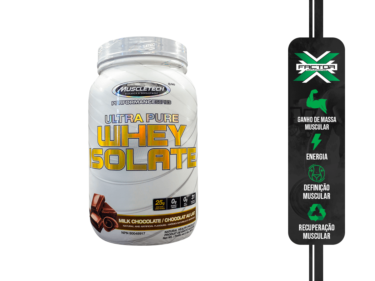 ULTRA PURE WHEY ISOLATE 907G MUSCLETECH