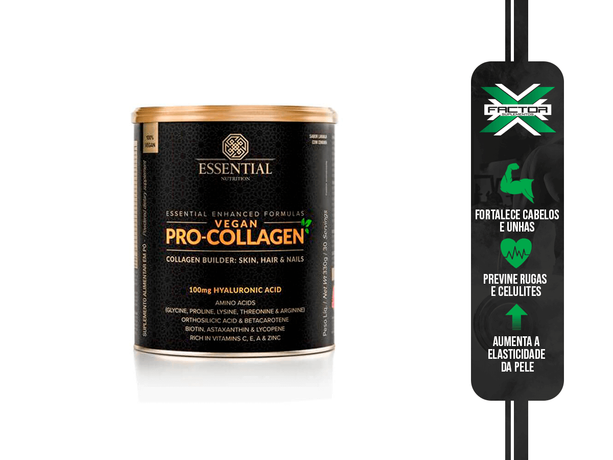 VEGAN PRO COLLAGEN LATA 330G/30DS ESSENTIAL