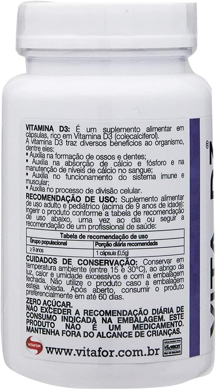 VITA D 30 CAPS DE 500MG VITAFOR