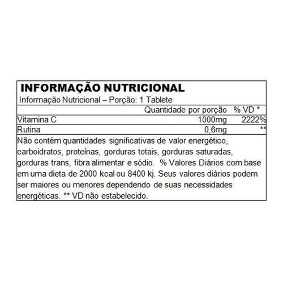VITAMINA C 1000MG 100 TABLETES - PERFORMANCE