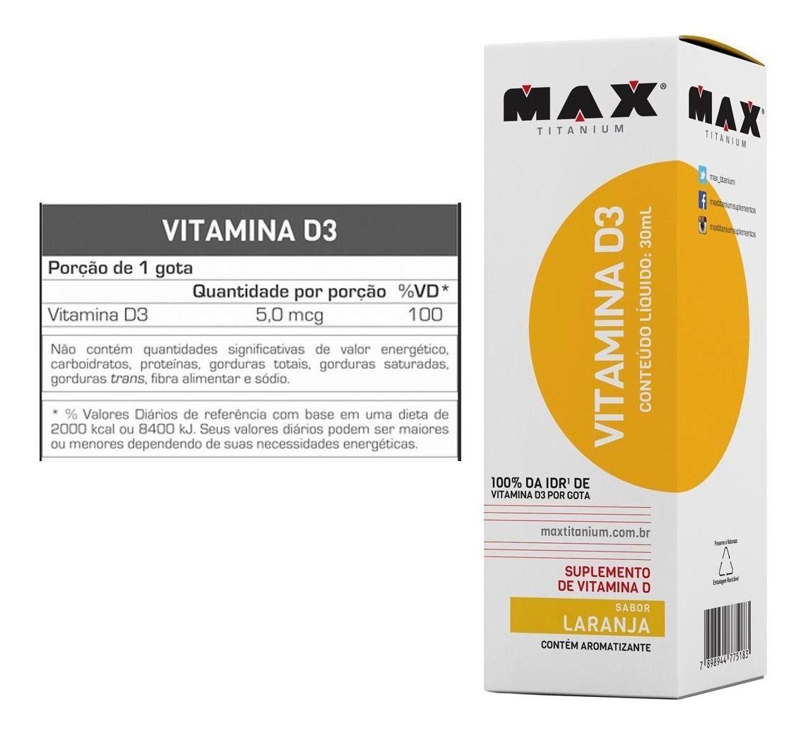 VITAMINA D3 (30ML) MAX TITANIUM