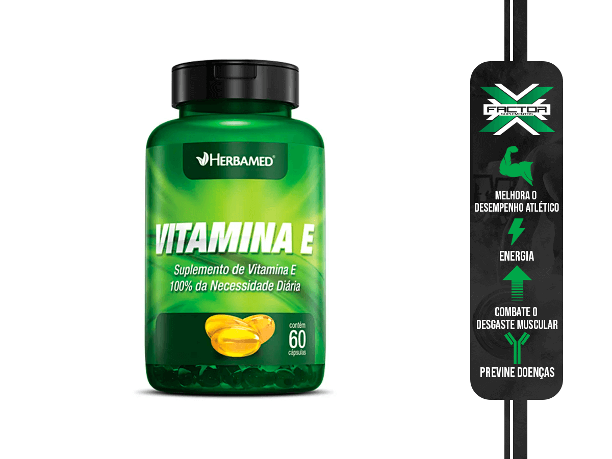 VITAMINA E 60CAPS HERBAMED