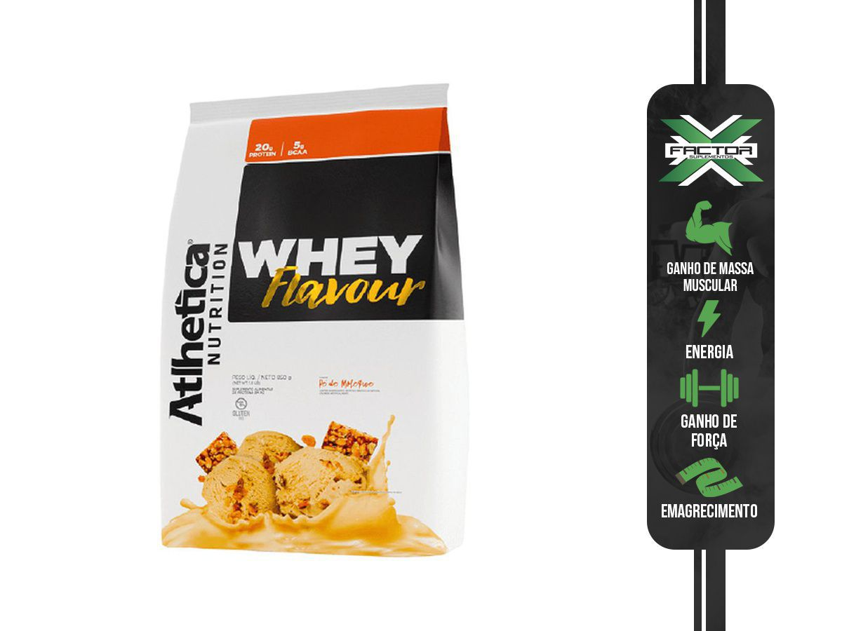 WHEY FLAVOUR ATLHETICA 850G