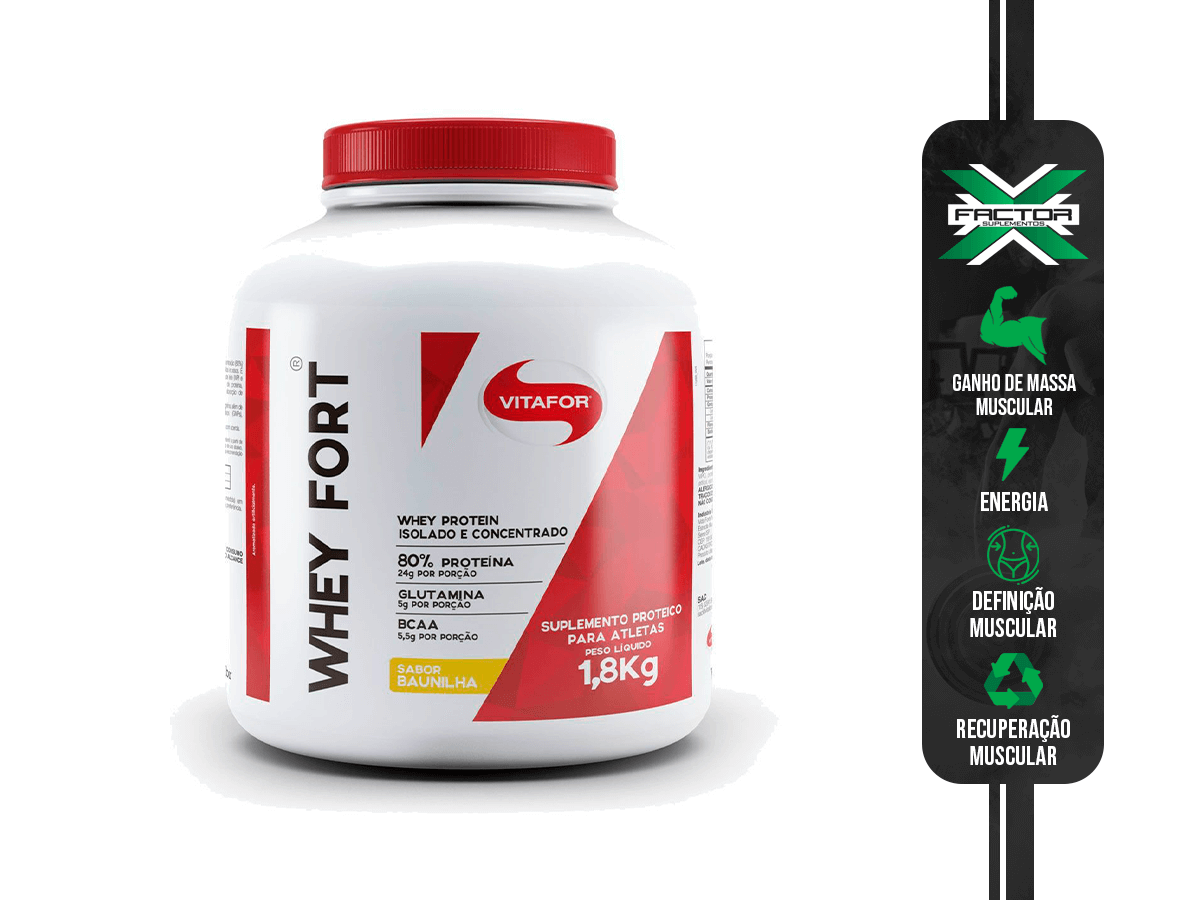 WHEY FORT 1800G VITAFOR