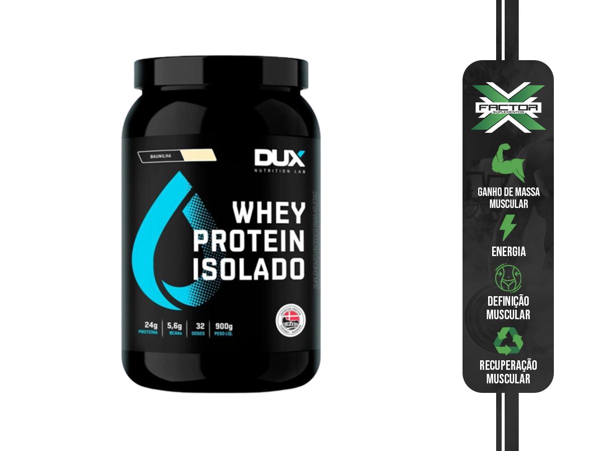 WHEY PROTEIN ISOLADO 900G - DUX