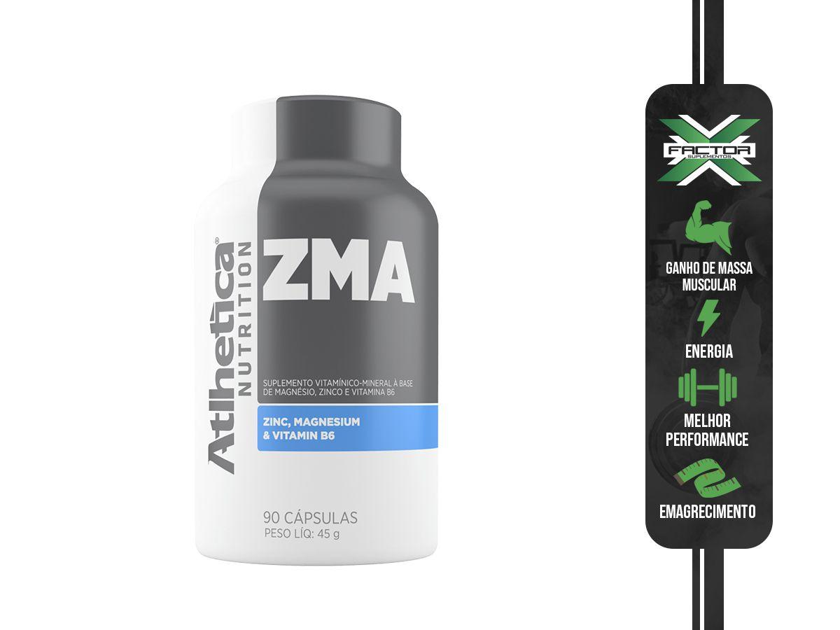 ZMA (90CAPS) ATLHETICA NUTRITION