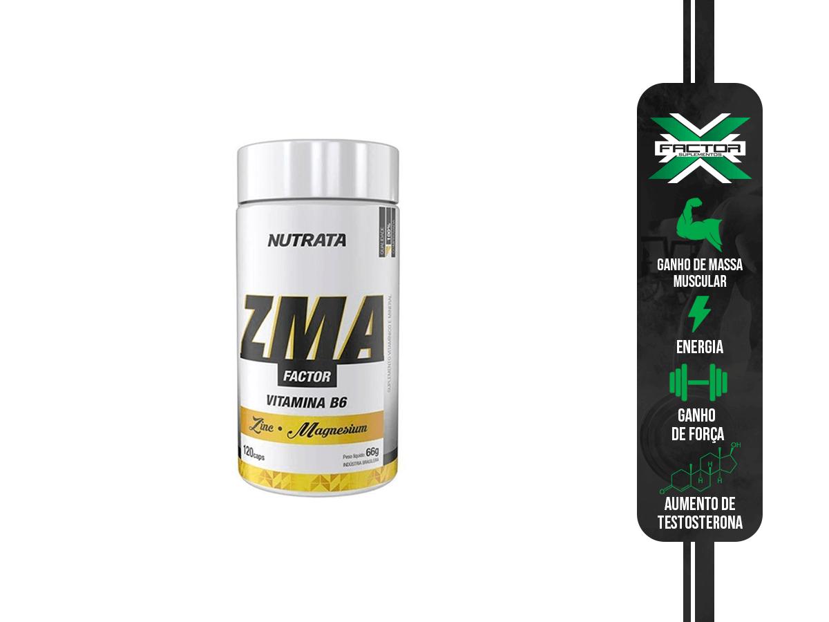 ZMA FACTOR 120 CAPS NUTRATA