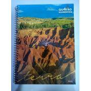 Caderno Foroni Universitario 96 folhas 1 matéria quatro elementos