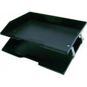 Caixa para correspondencia Acrimet 253 4 dupla facility lateral preta