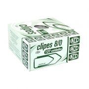 Clips N.8/0 Galvanizado Caixa Com 500G / 137Un / Acc