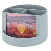 Mix Acrimet 958 4 organizer organizador pessoal com porta foto  cor platina