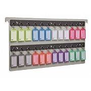 Organizador de chaves pasta suspensa c/24 chaveiros 145 0