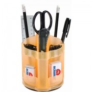 Organizador de mesa mini office laranja 870 2