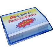 Porta lembrete azul clear c/papel 957 2   Acrimet