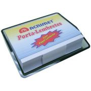 Porta Lembrete c/papel bco cor fume 957