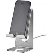 Suporte para celular Acrimet smart 313.1 cor prata caixa com 6 unidades